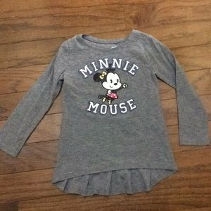 Girls Minnie Mouse top